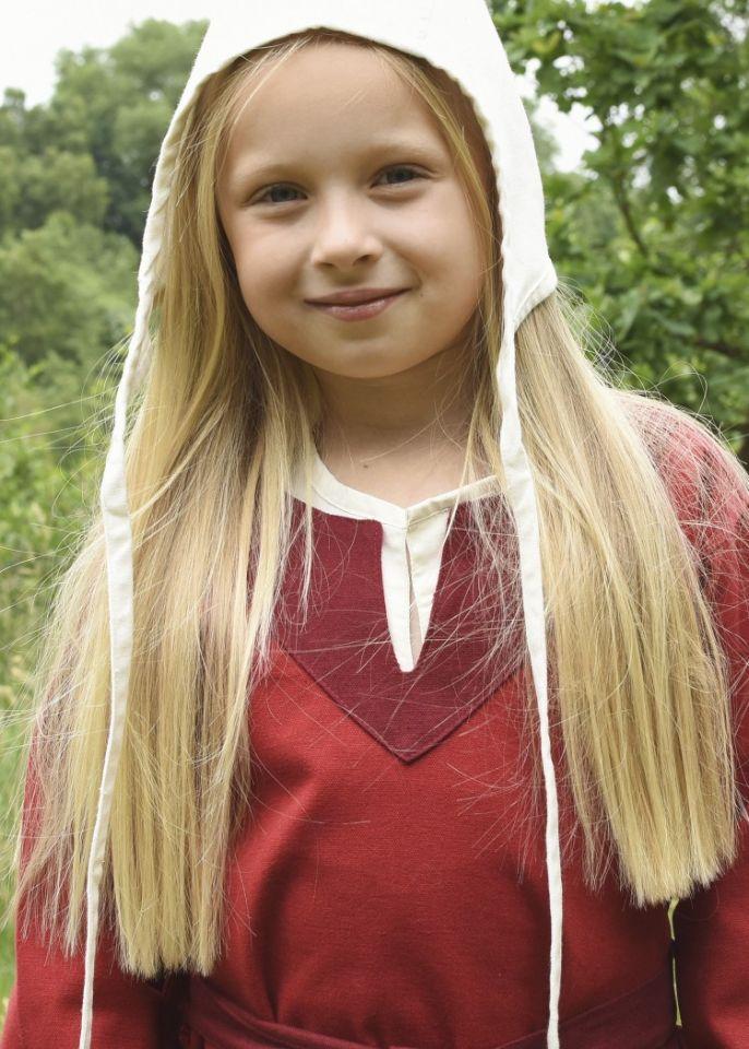 Wikingerkleid für Kinder rot/weinrot 2