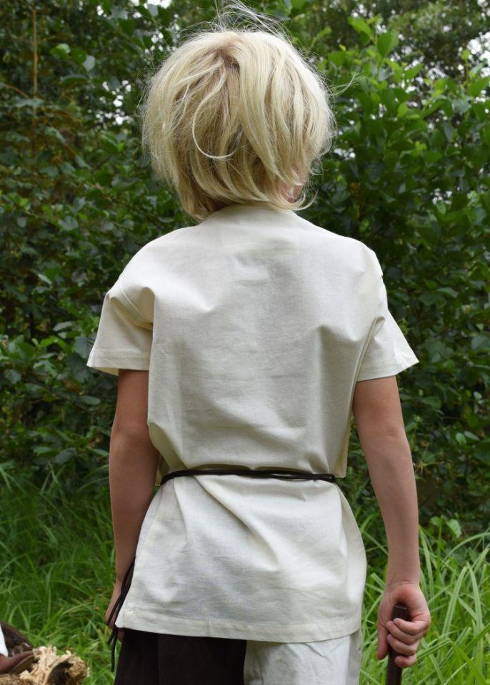 Kindertunika kurzarm natur 2