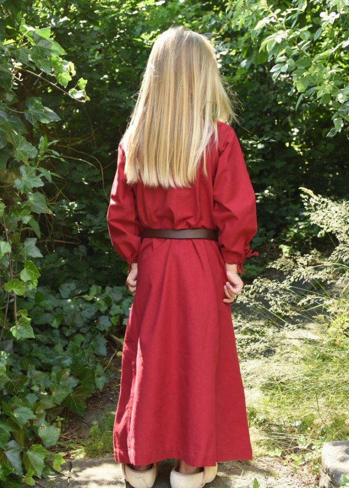 Kinder-Unterkleid Mara rot 2
