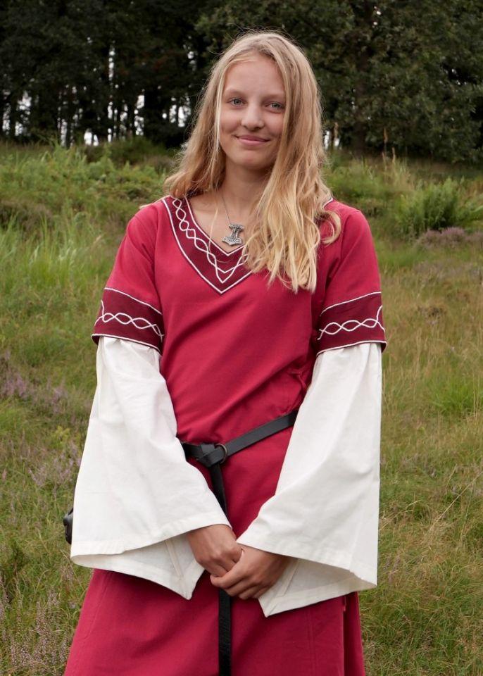 Kleid Agatha rot 2