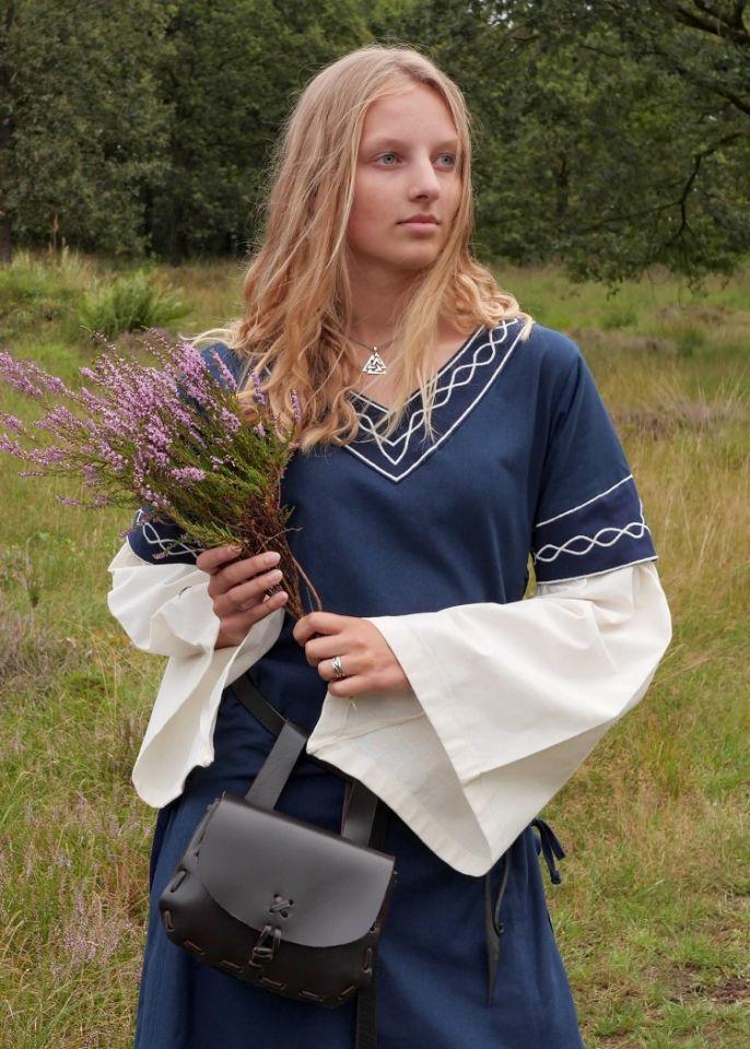 Kleid Agatha blau 2