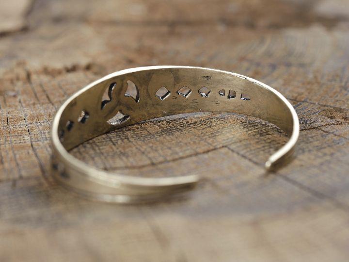 Keltischer Armreif - Bronze 2