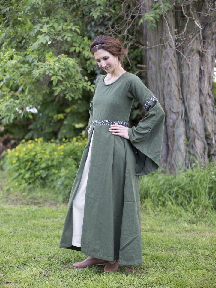 Herbstkleid in waldgrün 2