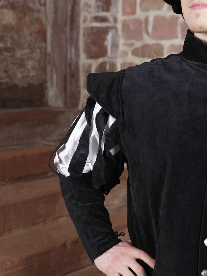 Jacke für den edlen Herren schwarz 2
