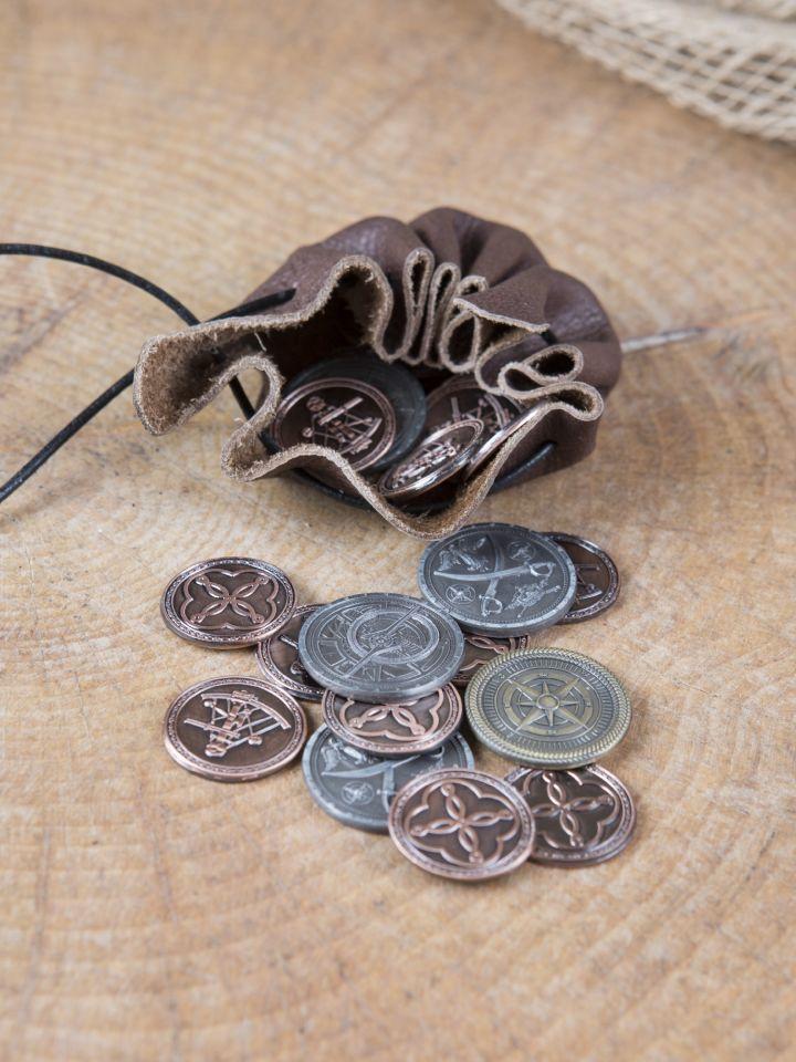 LARP-Münzen Pirat 2