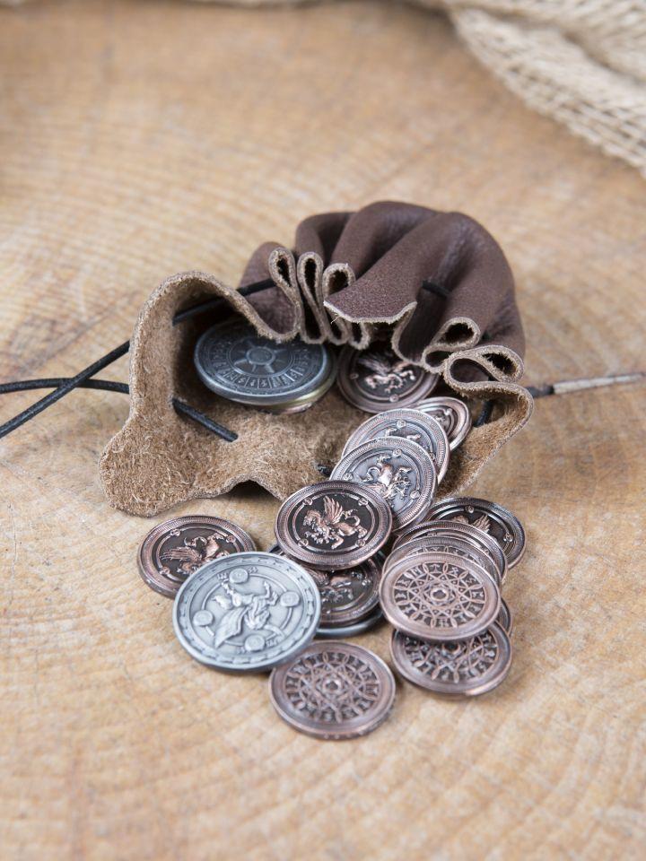LARP-Münzen Luft ohne Lederbeutel 2