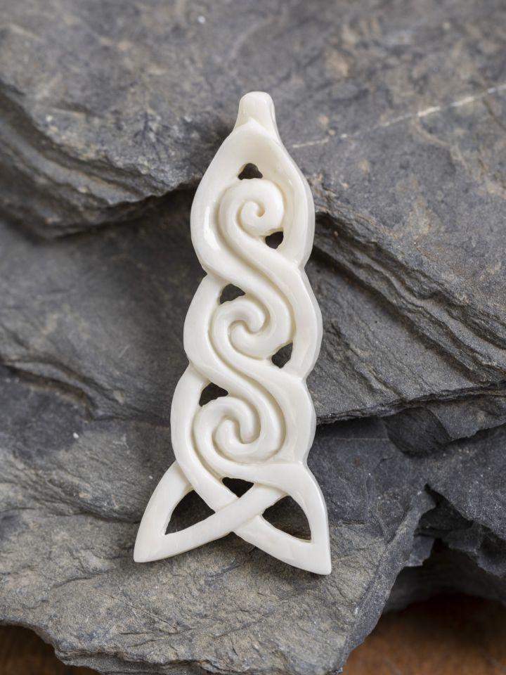 Keltischer Knoten aus Knochen 2