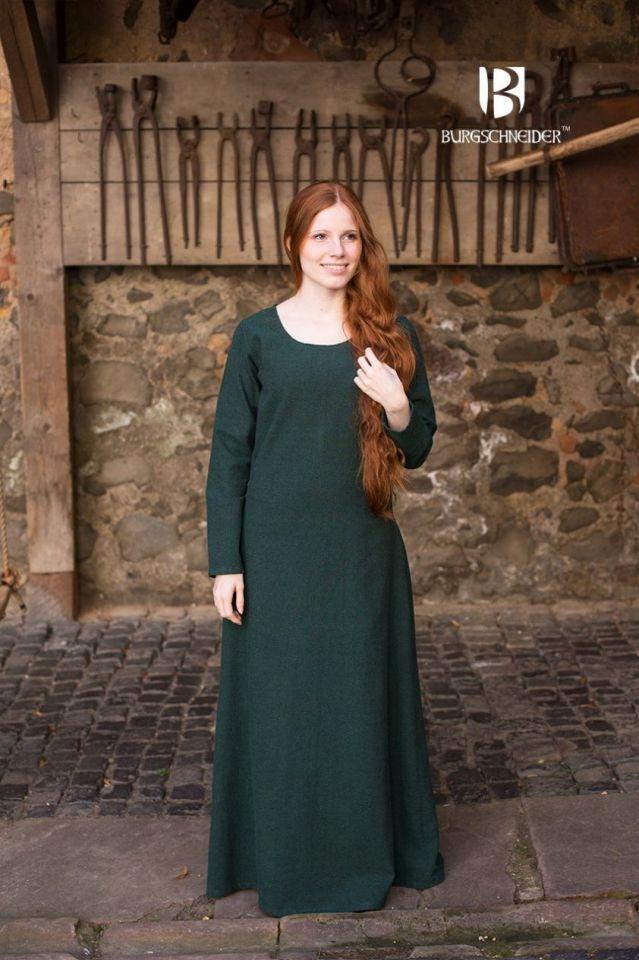 Unterkleid Freya grün M 2