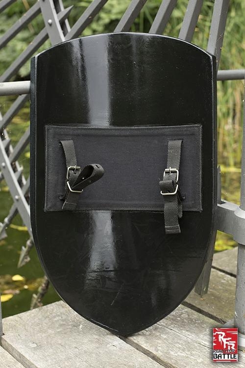 Normannenschild für LARP schwarz 2