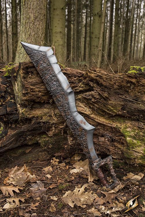 Ork Klinge für LARP 100 cm 2