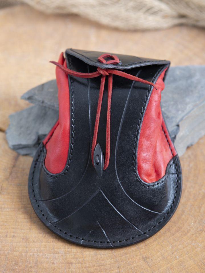 Gürteltasche Elfen schwarz-rot 2