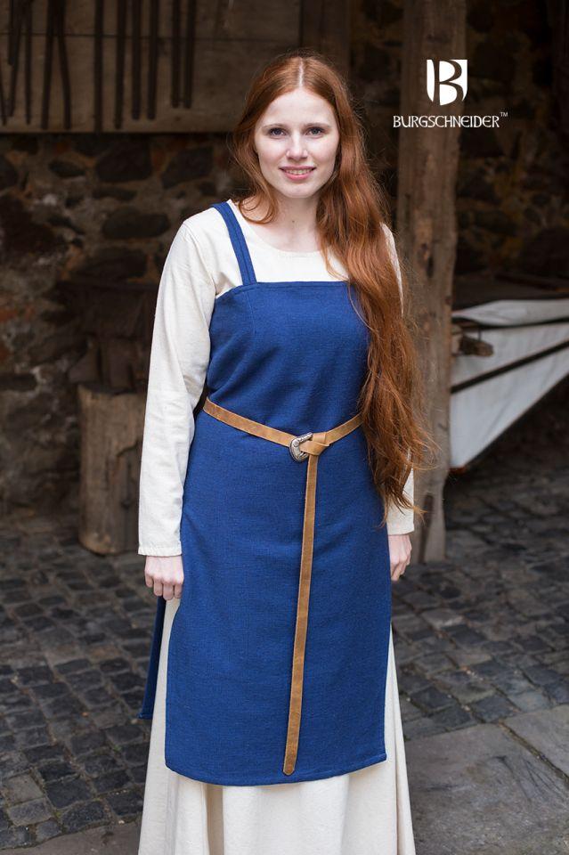 Wikingerkleid Frida - blau 2
