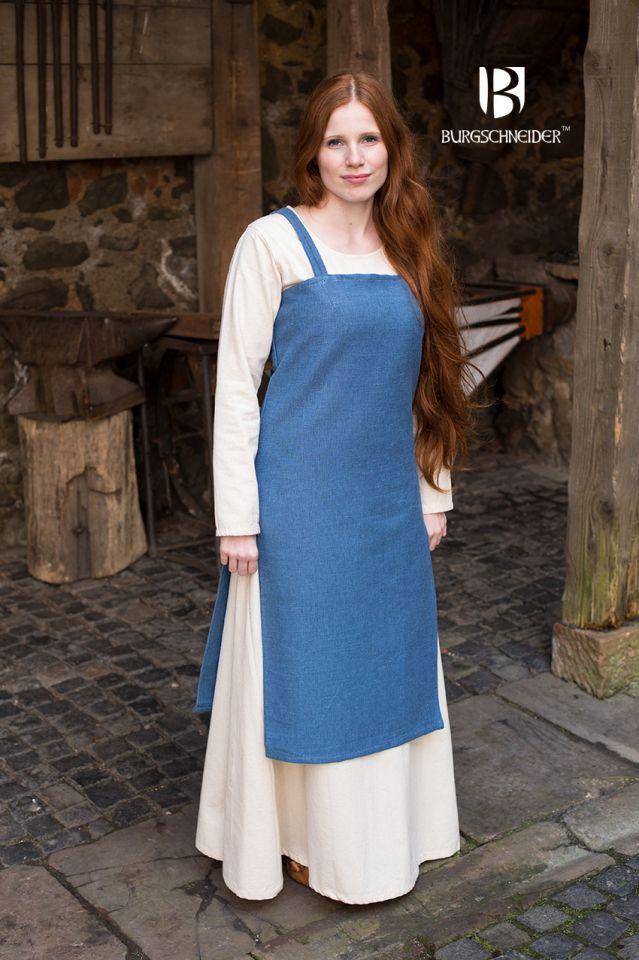 Wikingerkleid Frida - meerblau 2
