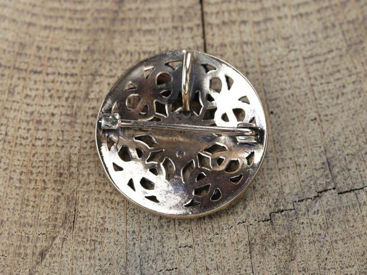Scheibenfibel - Silber oder Bronze bronze 2