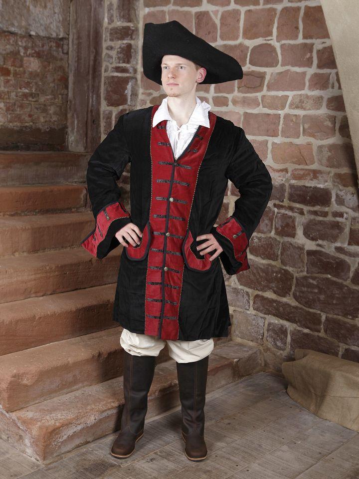 Gehrock mit Hut, Hose und Rüschenhemd 2