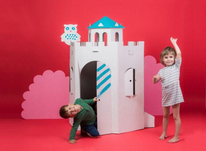 Begehbarer Burgturm 2