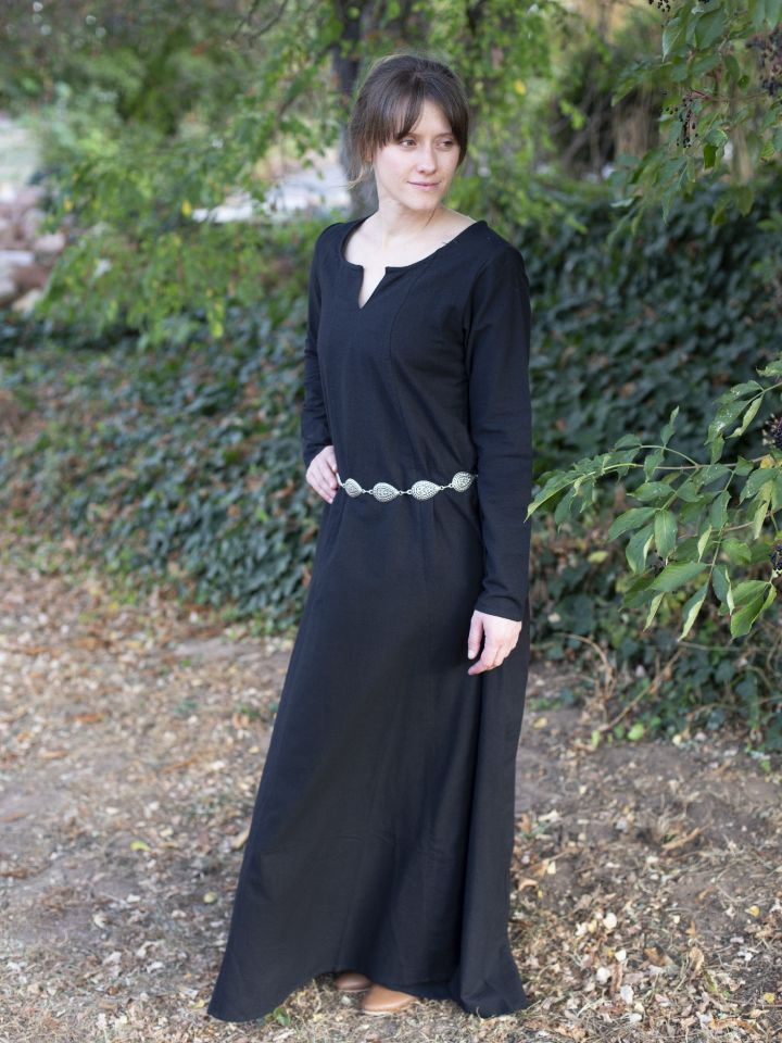Schlichtes Unterkleid schwarz M 2
