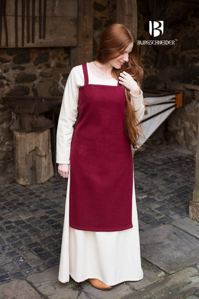 Wikingerkleid Jodis - Rot 2