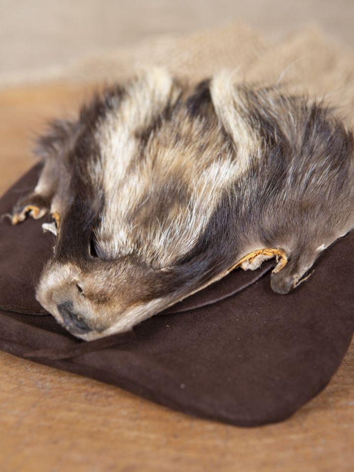 Gürteltasche Waschbär braun 2
