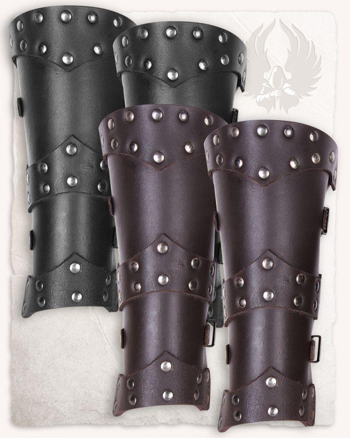 Beinschienen für Kinder schwarz 2