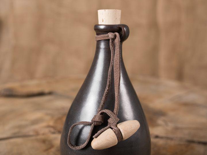 Zaubertrankflasche dunkelbraun 2