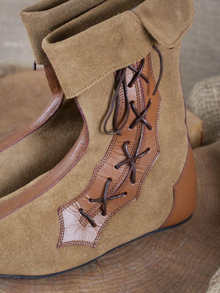 Mittelalter Stiefel Vasco braun 2