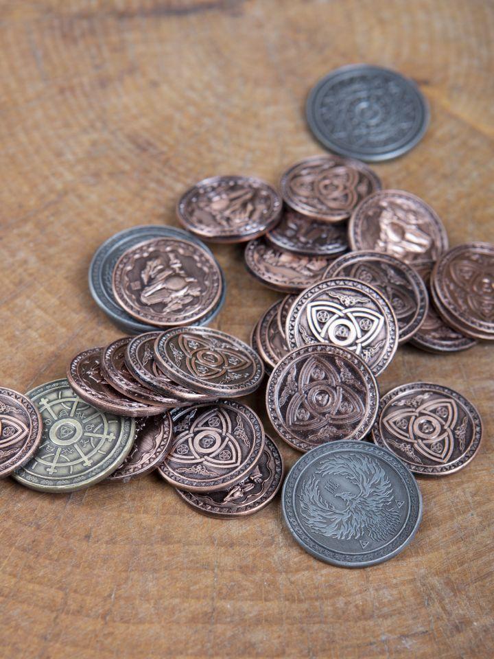 LARP-Münzen Magier 2