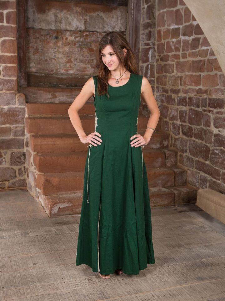 Ärmelloses Kleid grün L 2