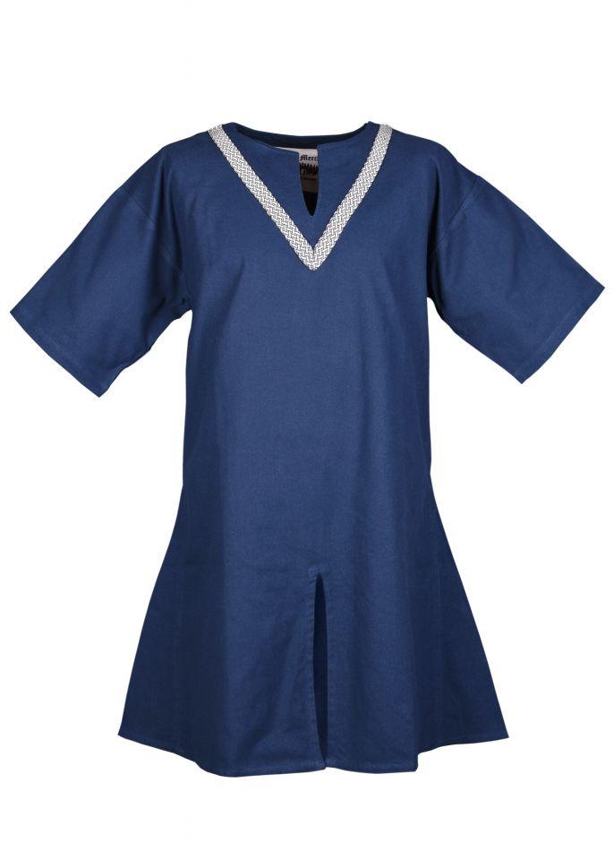 Kinder Tunika Ailrik kurzarm blau 2
