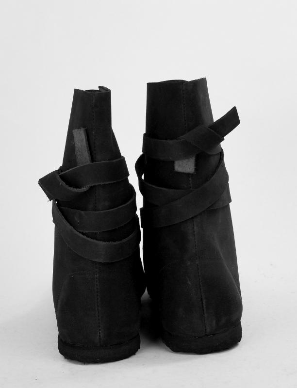 Wikingerstiefel mit Gummisohle schwarz 2