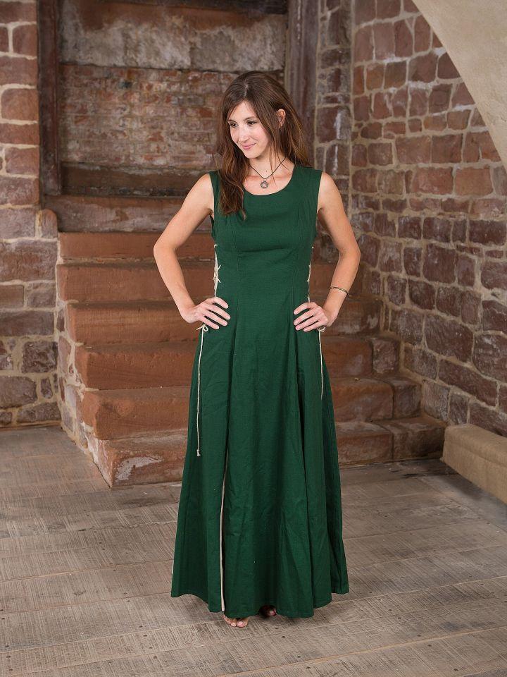 Ärmelloses Kleid grün 2