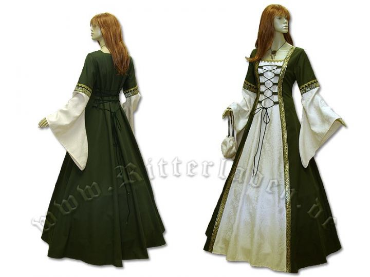 """Kleid """"Iris"""" aus Brokat und Baumwolle 2"""