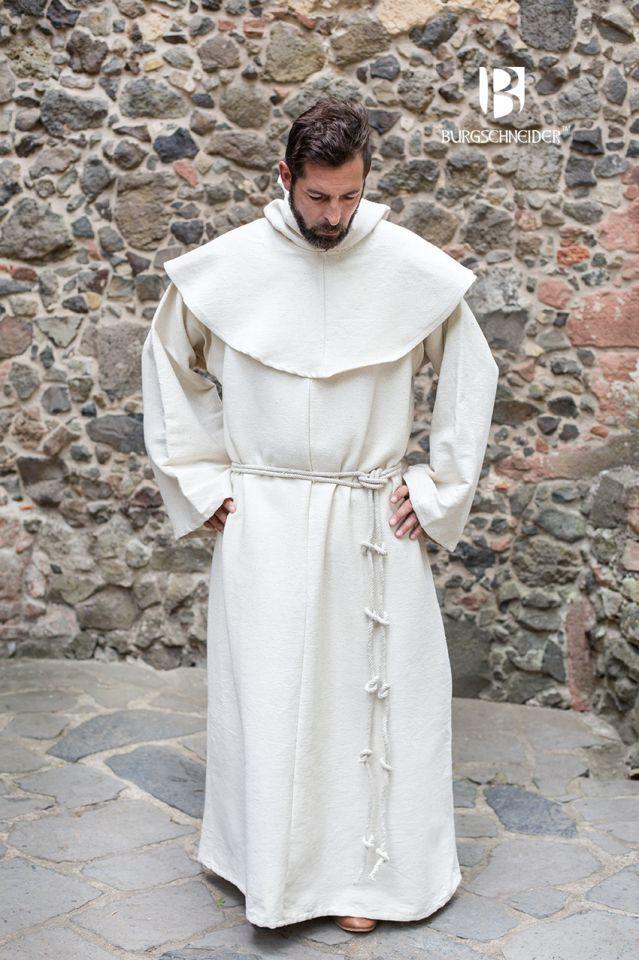 Mönchskutte Benediktus natur 2