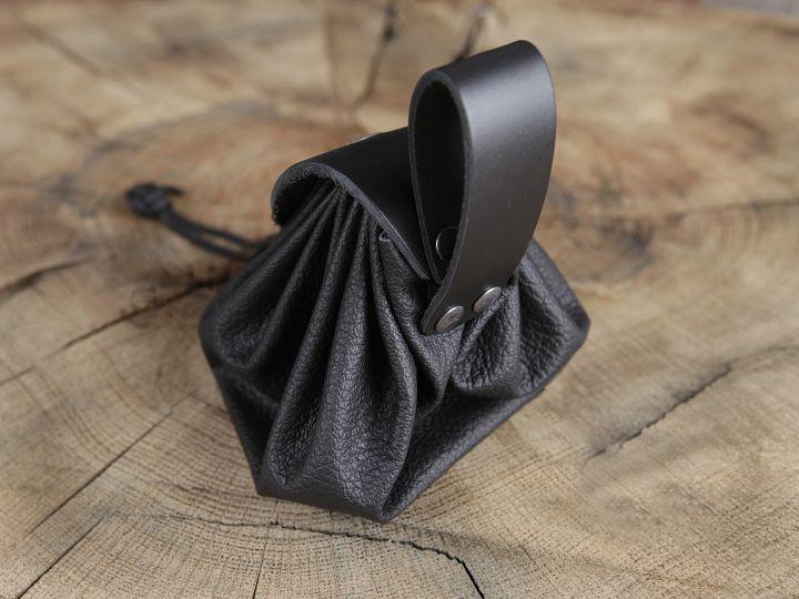 Geldkatze - Beuteltasche schwarz 2