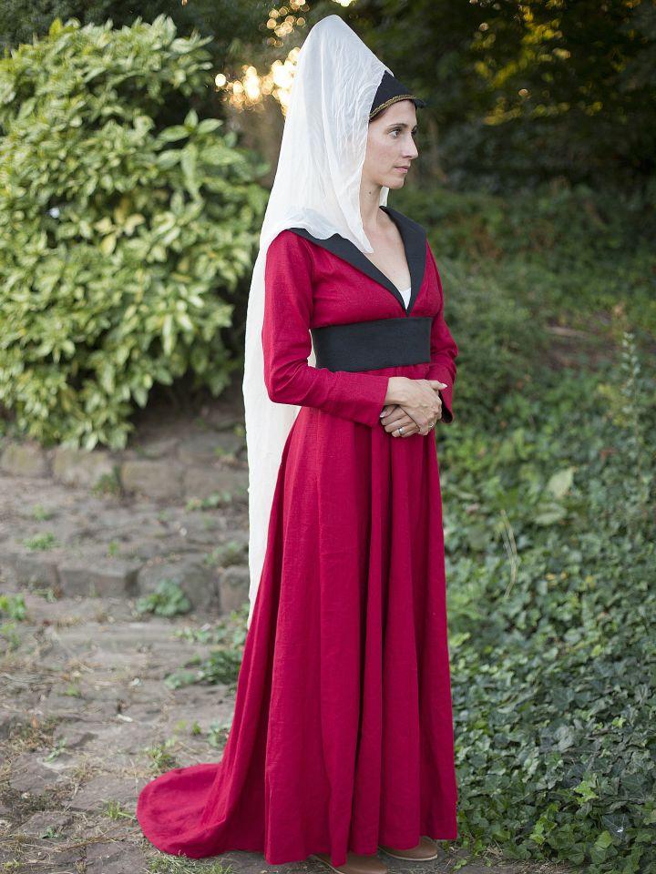Burgundisches Kleid Margarete von York 2