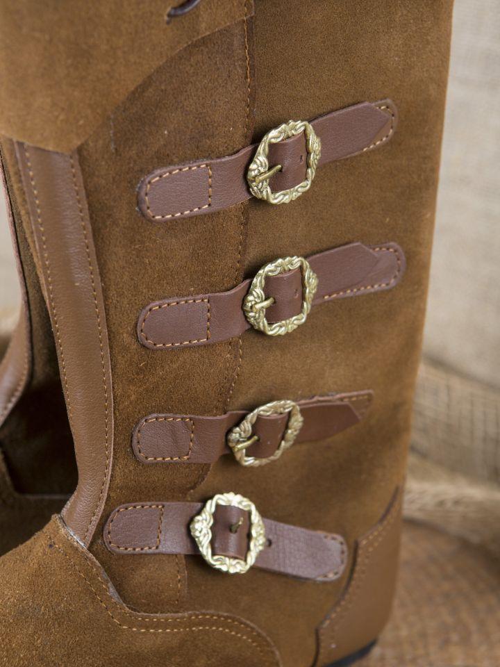 Mittelalter Stiefel Sewolt braun 2
