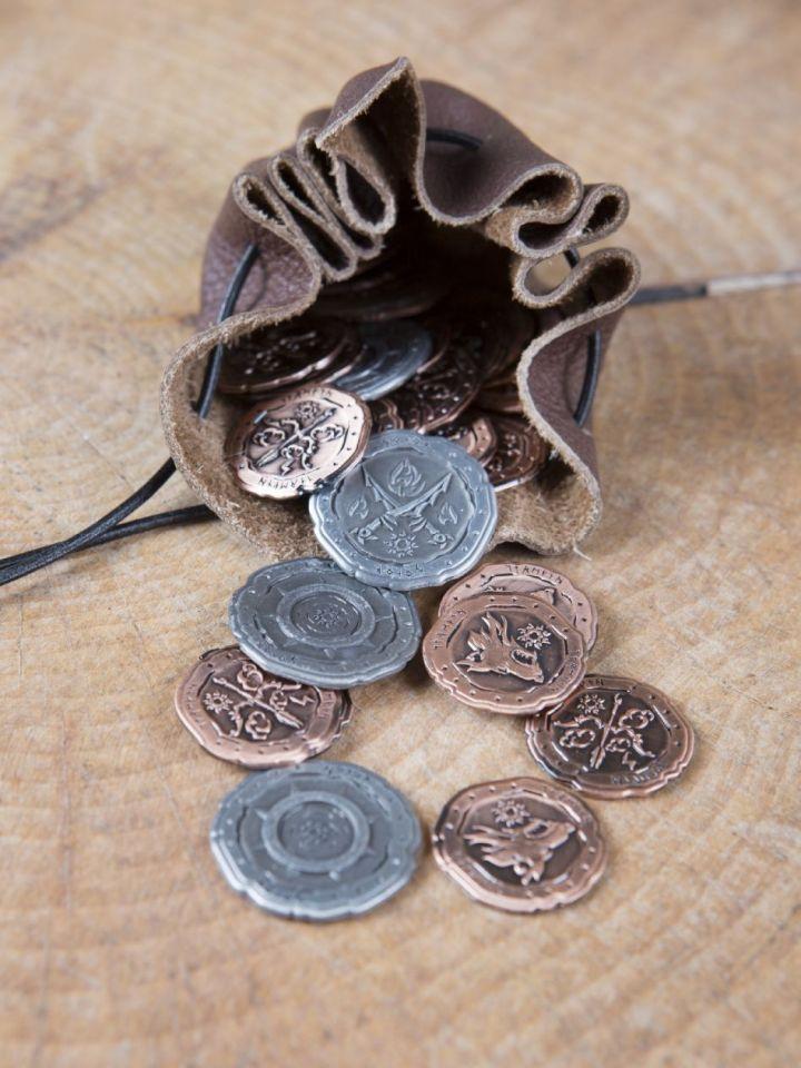 LARP-Münzen Ork ohne Lederbeutel 2