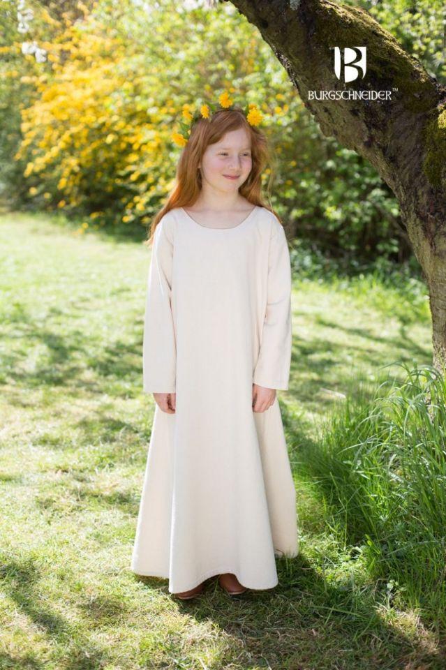 Kinderunterkleid Ylvi natur 128 2