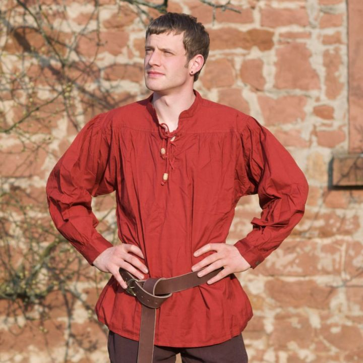 Mittelalterhemd rot XXXL 2