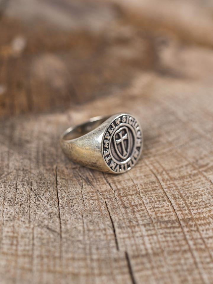 Ring Siegel der Tempelritter 2