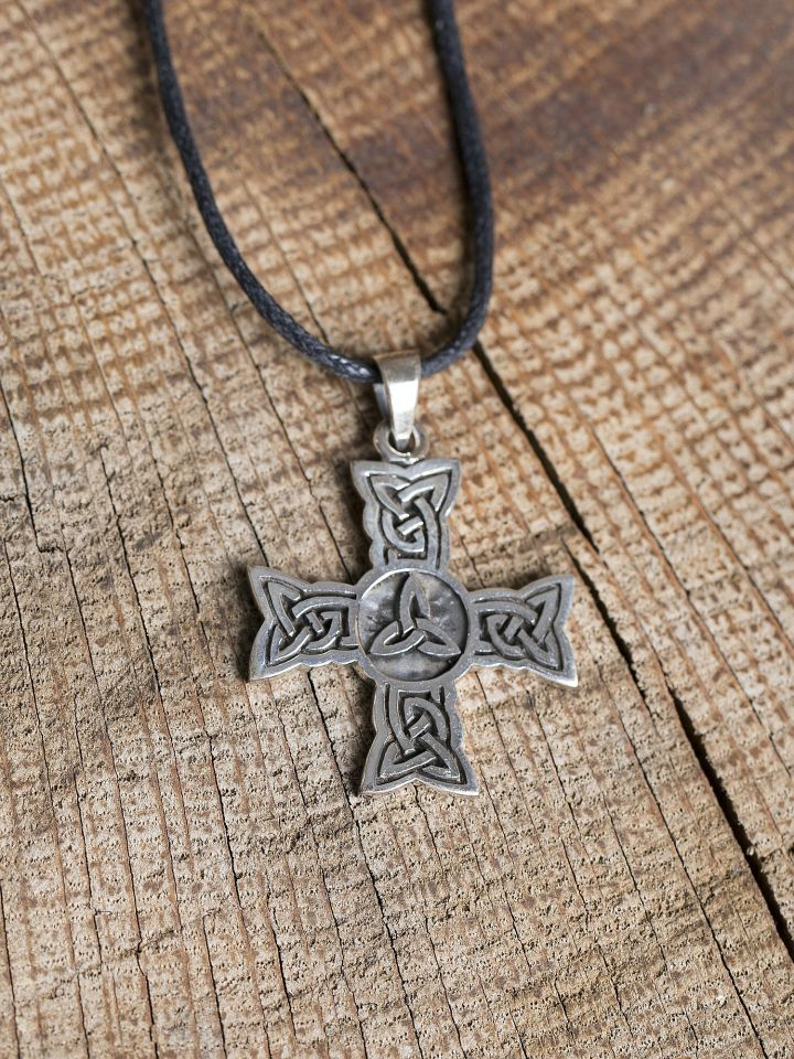 Keltischer Knoten Sterlingsilber 2
