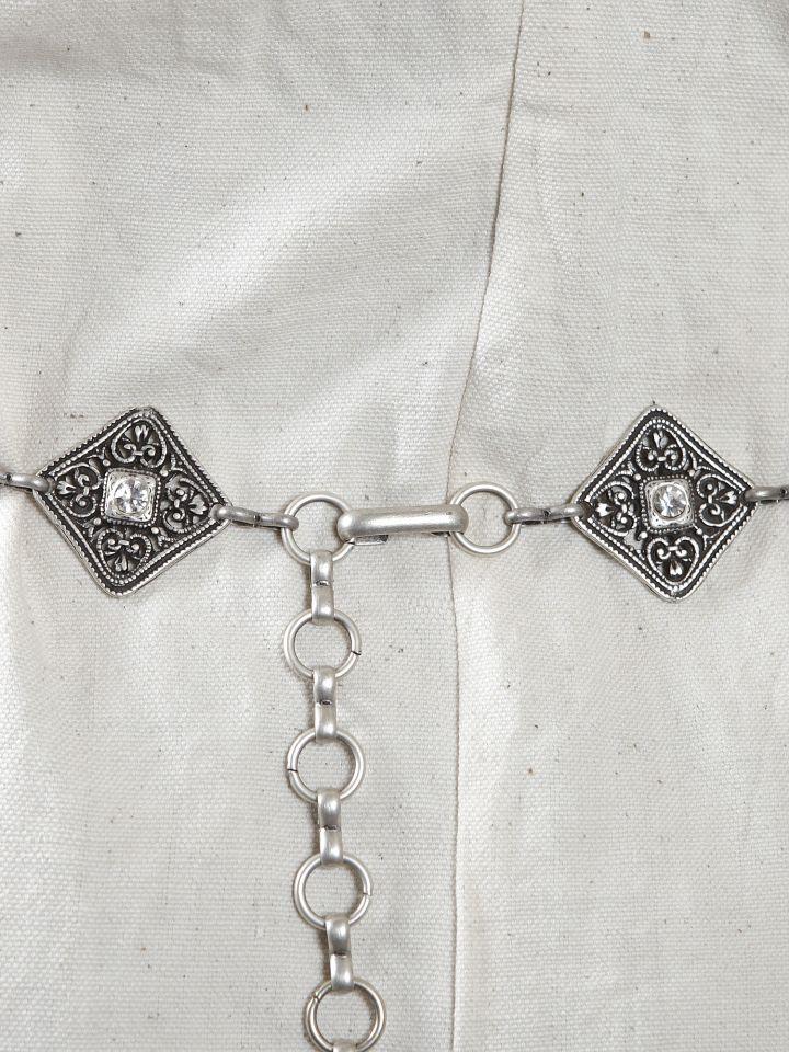 Metallgürtel - Y-Gürtel mit Funkelsteinen 2