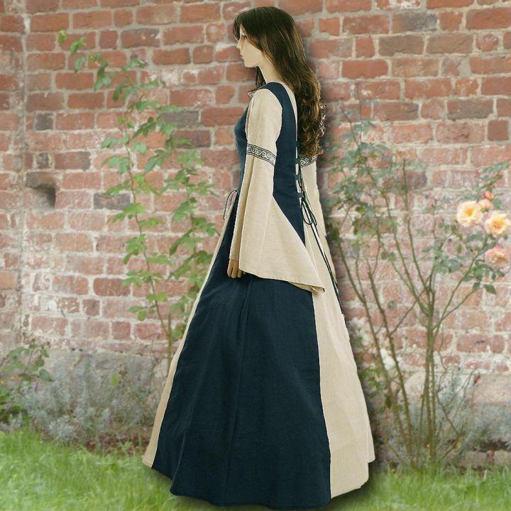 Kleid Elisabeth marine-sand 2