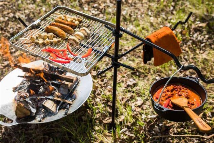 Feueranker für die Kochstelle 2