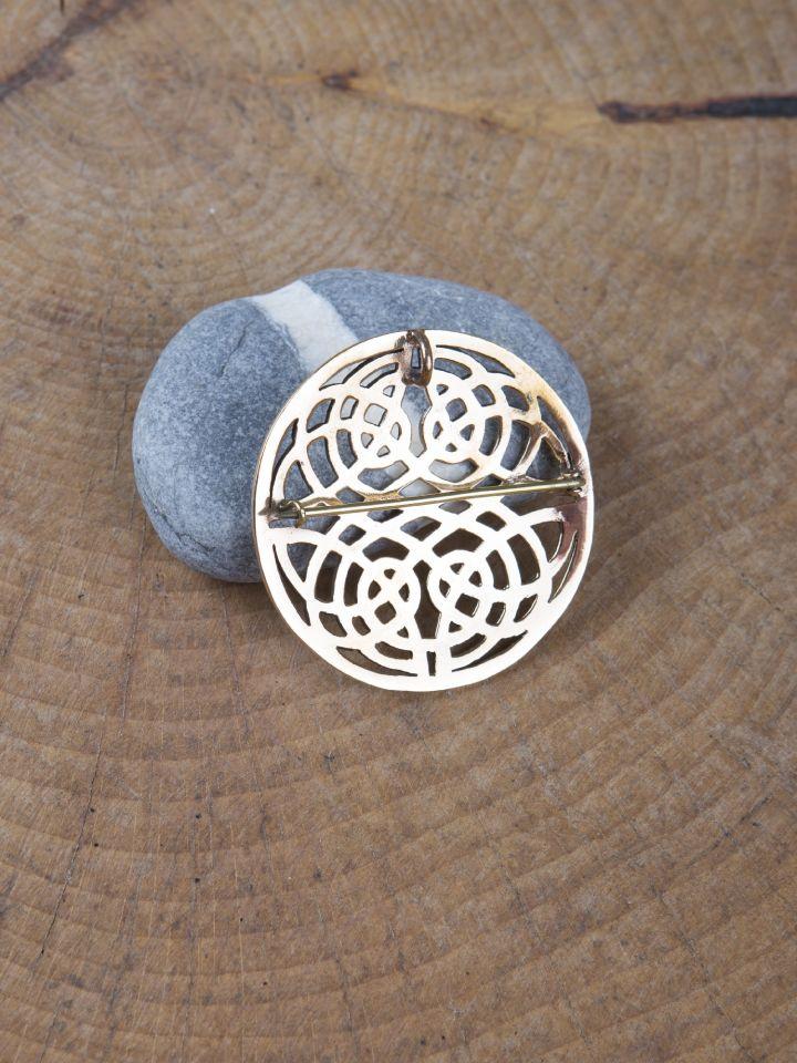 Keltische Rundfibel aus Bronze 2