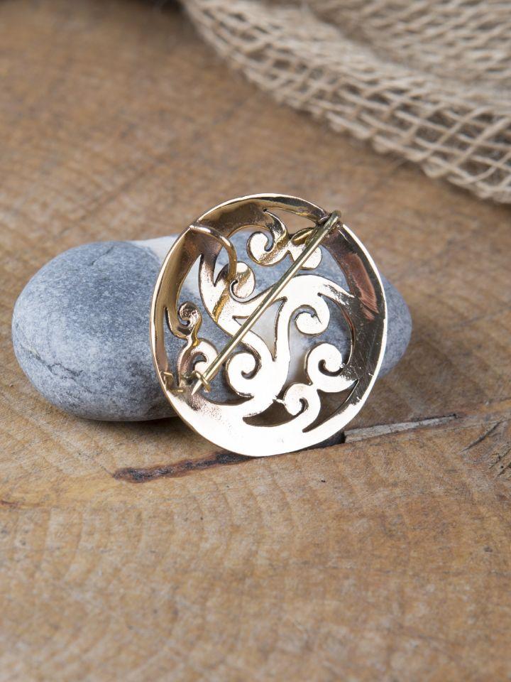 Keltische Fibel mit Triskele 2