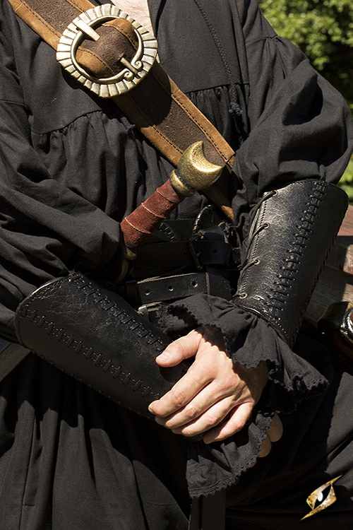 Armschienen Squire, schwarz 2