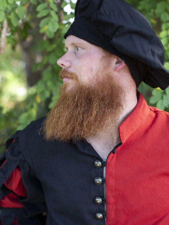 Landsknechtwams schwarz-rot 2