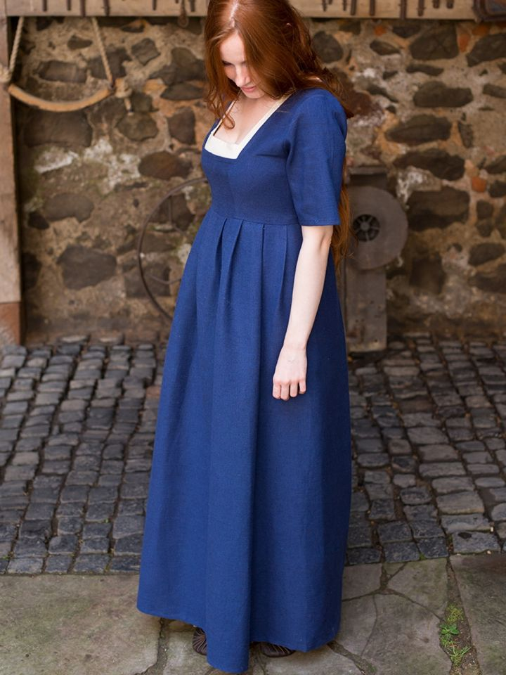 Kleid Frideswinde blau S 2
