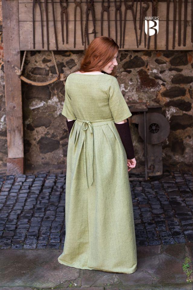 Kleid Frideswinde lindgrün 2